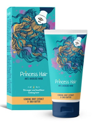 Gel princess hair